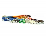 62.5/125 Micron Multimode Fiber Optik Patch Cords